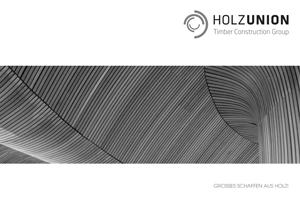 Imagebroschüre Holzunion