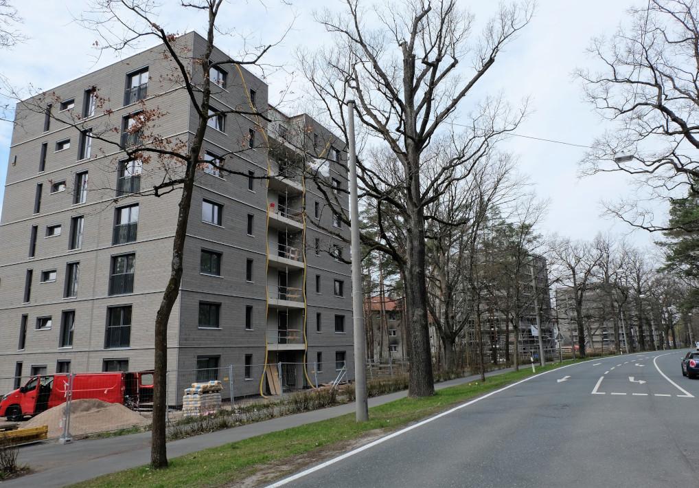 Vier 7-geschossige Punkthäuser, Erlangen