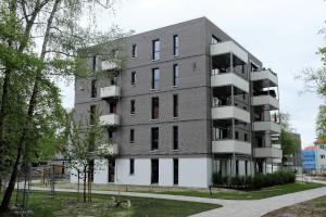 Drei 5-geschossige Punkthäuser, Erlangen