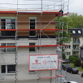 Erste Holzbau-Aufstockung in der Gebäudeklasse 4 in NRW