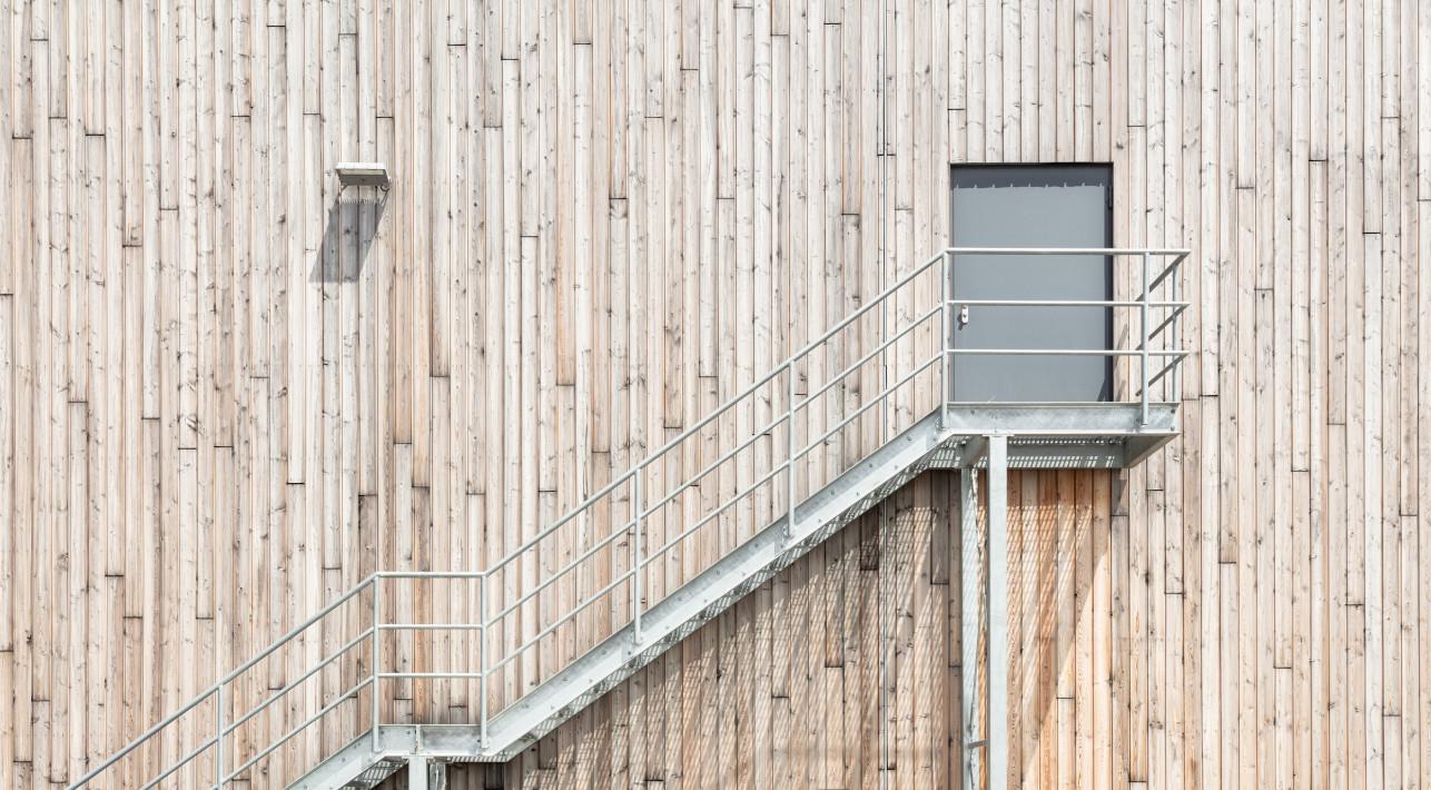 Holzfassade Dictum Plattling