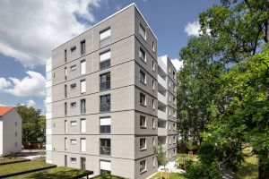 7-geschossige Punkthäuser, Erlangen