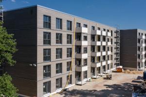 Mehrgeschossige Riegelbauten - Erlangen