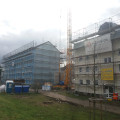 Start Aufstockung 5 Mehrfamilienhäuser in Monheim