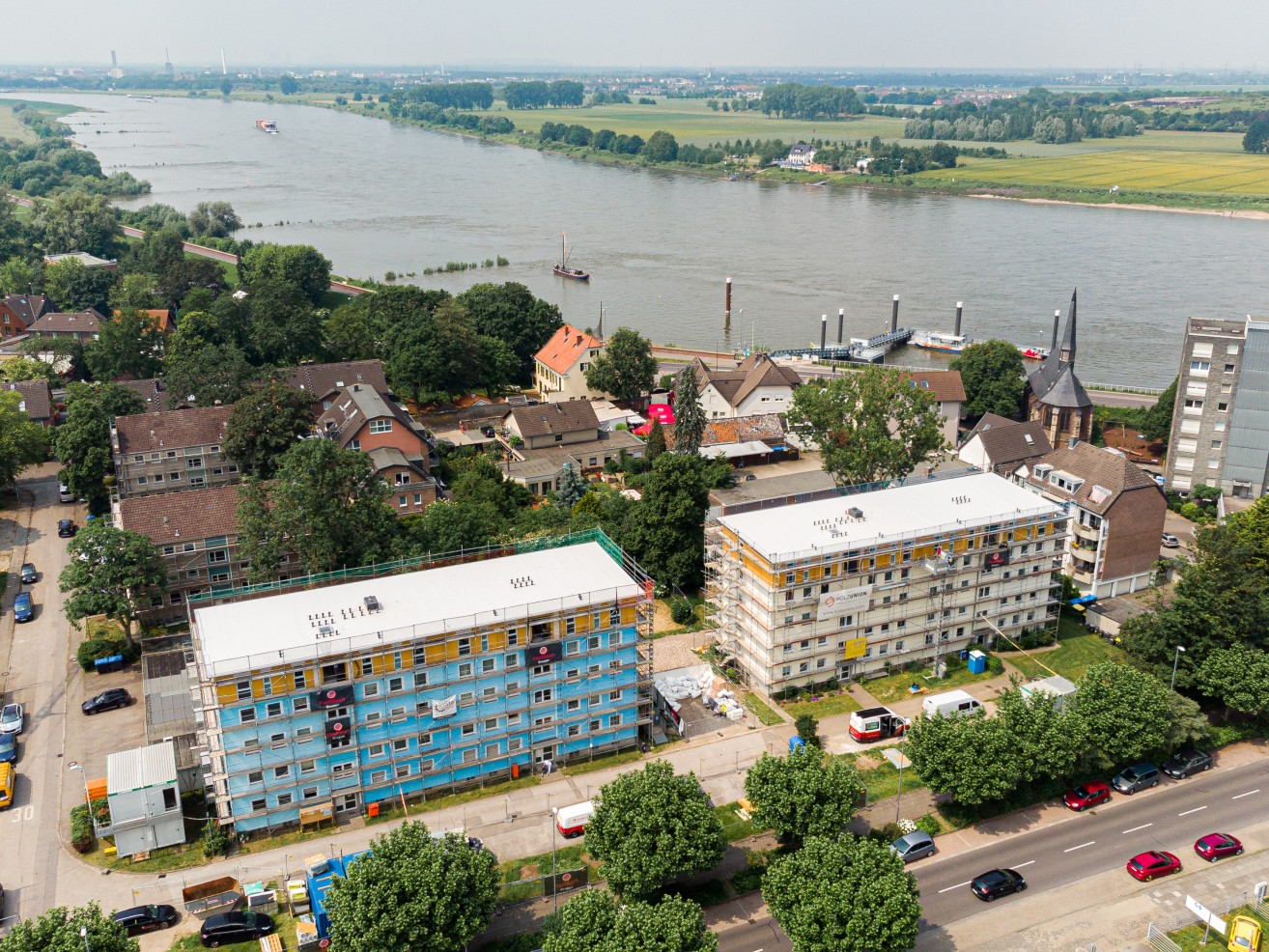 5 Dachaufstockungen Monheim